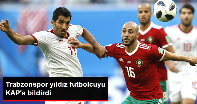 Trabzonspor yıldız futbolcuyu KAP a bildirdi