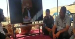 Ünlü sanatçı, babasının cenazesine canlı yayınla katıldı