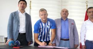 Büyükşehir Belediye Erzurumspora Bundesligadan forvet