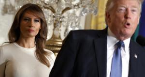 ABD Başkanı Trumpa, bir darbe de eşinden geldi!