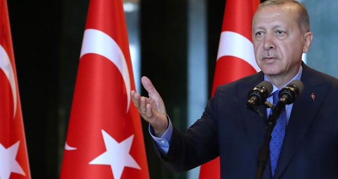 Büyükelçilere hitap eden Erdoğan: Kuşatma altındayız