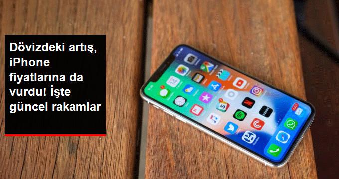 Döviz Kurları, Ünlü Teknoloji Firması Appleın Fiyatlarını Etkiledi