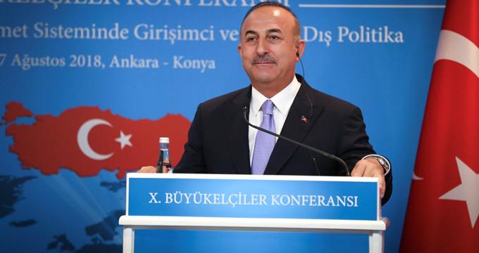 Bakan Çavuşoğlu, Brunson görüşmesinin detaylarını anlattı