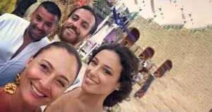 Ceyda-Bülent çiftinden, Vartolu ve eşine ilginç kutlama