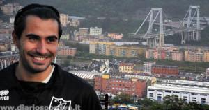 İtalyan kaleci, köprü faciasında ölümden döndü