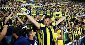 Taraftarlardan Fenerbahçeye destek!