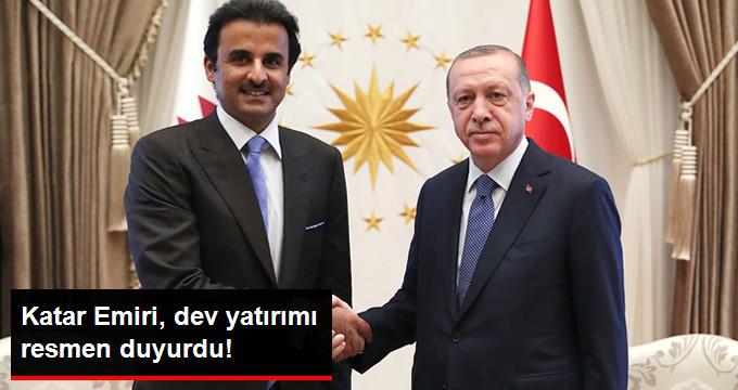 Katar Emiri Al Sani, Sosyal Medyadan Türkiyeye Yatırım Yapacaklarını Duyurdu