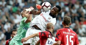 Beşiktaşın tur gününe yayın krizi damga vurdu