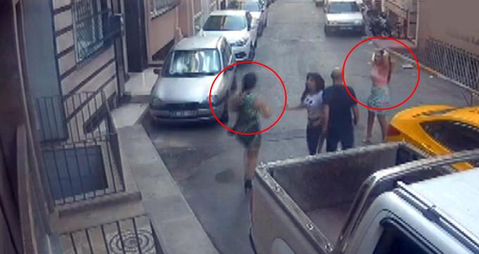 İstanbul'un göbeğinde genç kadınlara dehşeti yaşattılar