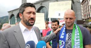 Sırp sporcu, Türk lirasına destek verdi