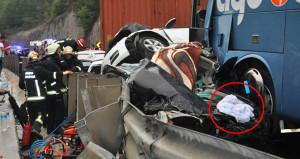 Kaza yerinde dikkat çeken detay! Ekipler teyakkuza geçti