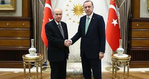 MHP lider Bahçeli'den Başkan Erdoğan'a tebrik telefonu