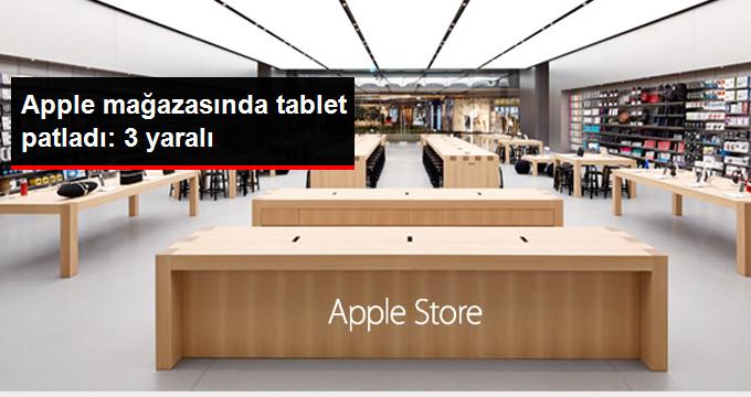 Hollandadaki Apple Mağazasında Tablet Patladı: 3 Yaralı