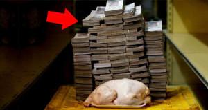 Bu ülkede 1 bütün tavuk almak isteyen resmen servet ödüyor!