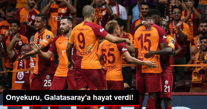 Onyekuru, Galatasaray a hayat verdi!