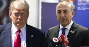 Çavuşoğlu'ndan, Türkiye ile kriz yaratan Trump'a sert eleştiri!