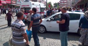 Kent meydanı savaş alanına döndü! 100 kişi, yarım saat kavga etti