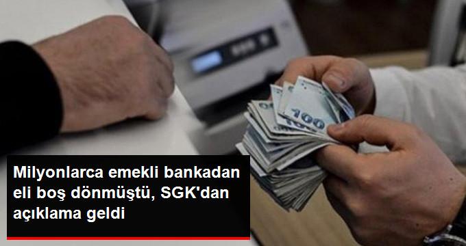 SGK'dan Bayram Tatiline Denk Gelen Emekli Ödemelerine İlişkin Açıklama