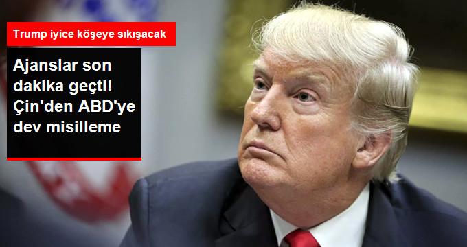 Çin'den Trump'a Dev Misilleme! 60 Milyar Dolarlık Ek Tarife Uygulanacak