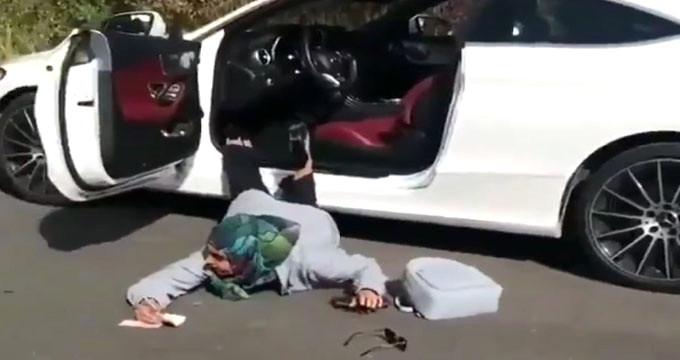 """""""Düşen Yıldızlar"""" akımına uyan Türk kızı rezil oldu"""