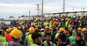 İşçi eylemlerinin yapıldığı 3. Havalimanının açılacağı tarih netleşti
