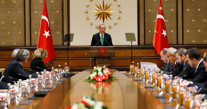 ABD'li şirketlerle toplantı sonrası Erdoğan'dan ilk açıklama!