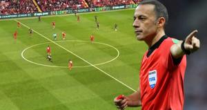 Cüneyt Çakır, Liverpool-PSG maçına damga vurdu
