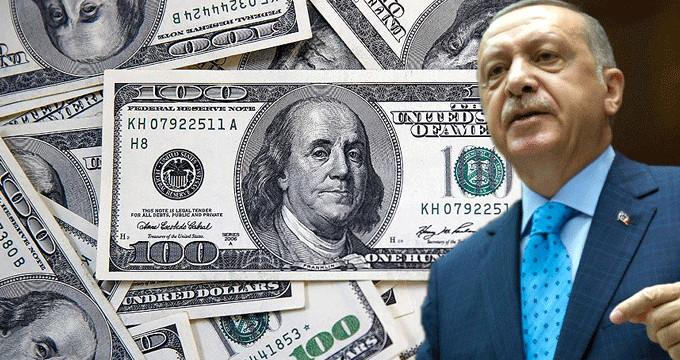 Erdoğan'ın resti sonrası dolar düşüşe geçti!