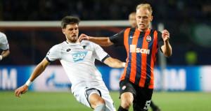 Hoffenheim kaçtı, Shakhtar Donetsk kovaladı