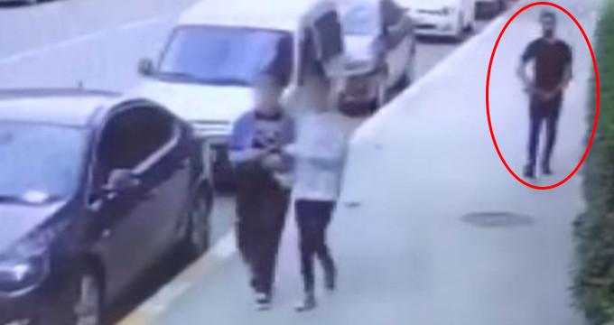 Kadınları taciz edip sokak ortasında teşhircilik yapan sapık yakalandı