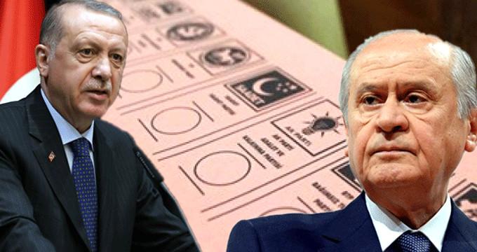 MHP-AK Parti ittifakı için aday formülü bulundu!