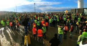 Türkiyenin en büyük projesinde 24 işçi tutuklandı!