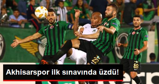 Akhisarspor, Avrupa Ligindeki İlk Maçında Krasnodar'a 1-0 Yenildi