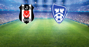 Beşiktaş-Sarsborg maçında ilk 11ler belli oldu