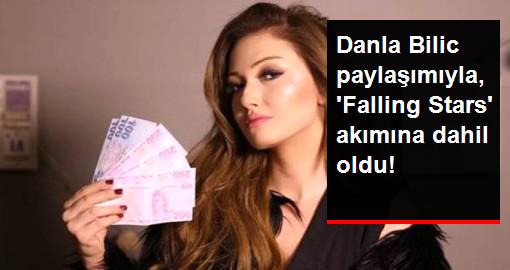 Danla Bilic, Paylaşımıyla 'Falling Stars' Akımına Dahil Oldu