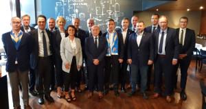 Dinamo Zagreb Kulübü, Fenerbahçe Yönetimini yemekte ağırladı