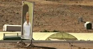 Mehmetçikin öldürdüğü terörist elebaşının fotoğrafını dağa astılar!