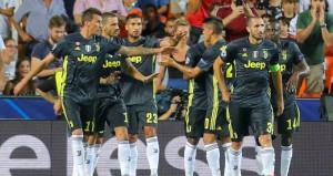 Ronaldonun kızardığı maçta Juventus, rahat kazandı