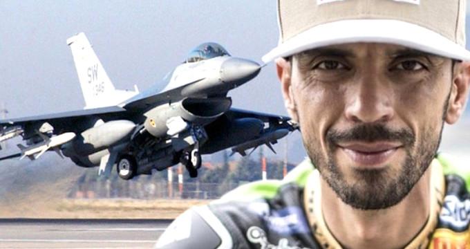 Rüzgarın oğlu Kenan, F-16'yı geçti!