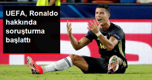 UEFA, Valencia Maçında Kırmızı Kart Gören Ronaldo Hakkında Soruşturma Başlattı