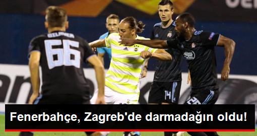 Fenerbahçe, UEFA Avrupa Liginde Karşılaştığı Dinamo Zagreb'e 4-1 Mağlup Oldu