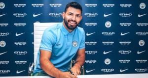 Sergio Aguero, yeni sözleşmeyi imzaladı