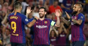 UEFA Şampiyonlar Liginde haftanın futbolcusu Messi!