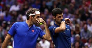 Federer-Djokovic çifti ilk maçında şaşırttı!