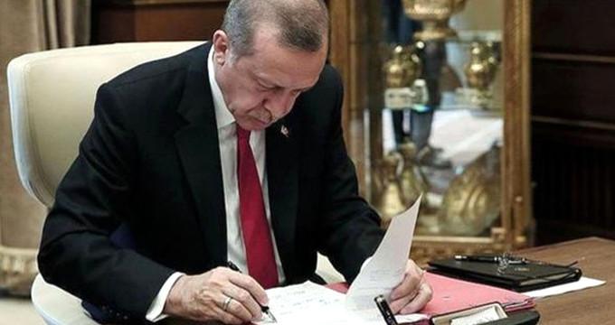 Resmi gazetede yayımlandı! Başkan Erdoğan'a en yakın isim belli oldu