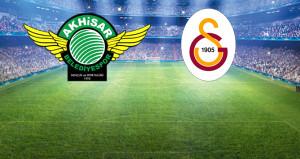 Galatasaray deplasmanda Akhisarspor ile karşılaşıyor!