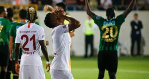 Galatasaray deplasmanda Akhisarspora farklı yenildi