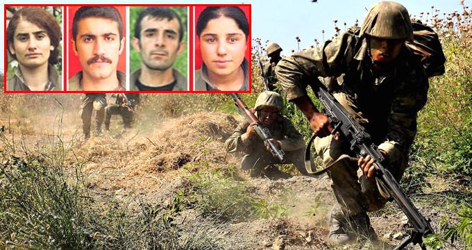 2 askerimizi şehit eden teröristler Kato Dağı'nda öldürüldü