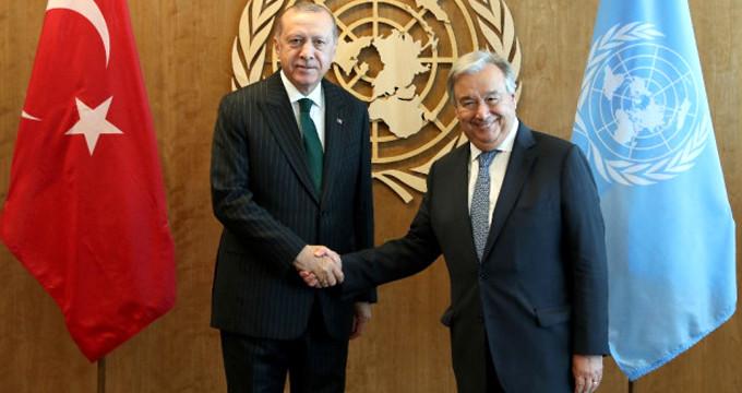 ABD'de bulunan Başkan Erdoğan'dan kritik görüşme!
