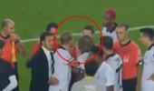 Beşiktaşlı Caner Erkin maç sonu yine rahat durmadı
